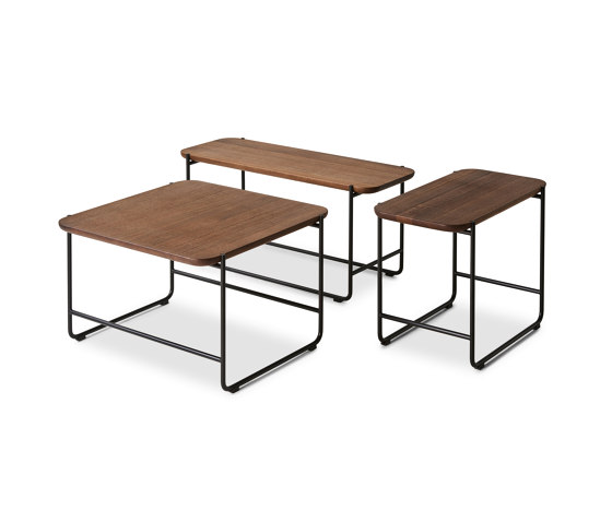 KONNO COFFEE- & SIDE TABLE SQUARE VERSION by dk3 | Side tables