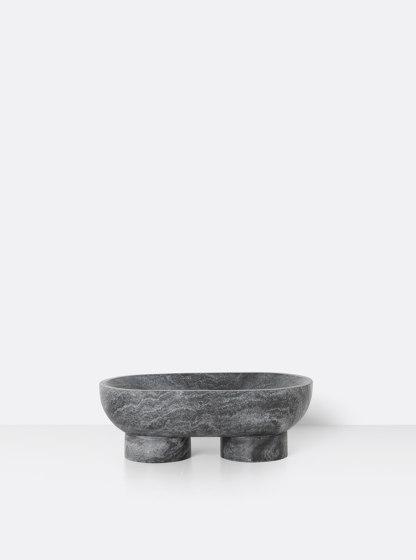 Alza Bowl - Black de ferm LIVING | Bols