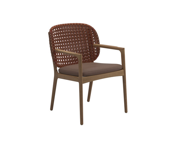 Kay Dining Chair Copper de Gloster Furniture GmbH | Sillas