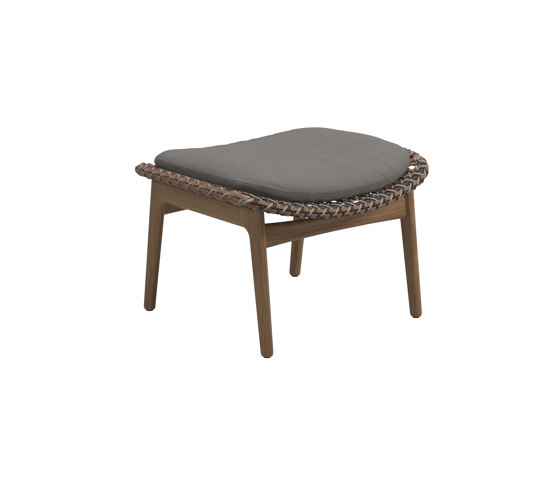 Kay Ottoman Brindle de Gloster Furniture GmbH | Taburetes