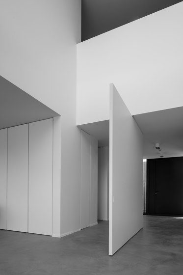 System 3 | Big White Pivot Door by FritsJurgens | Hinges