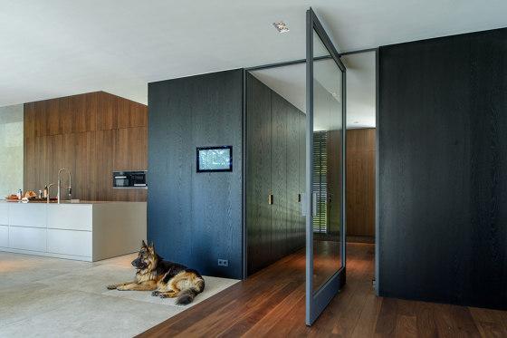 System 3 | Steel Pivoting Door by FritsJurgens | Hinges