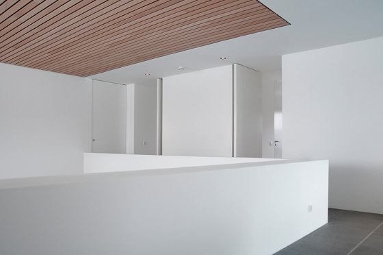 System M | White Pivot Doors by FritsJurgens | Hinges