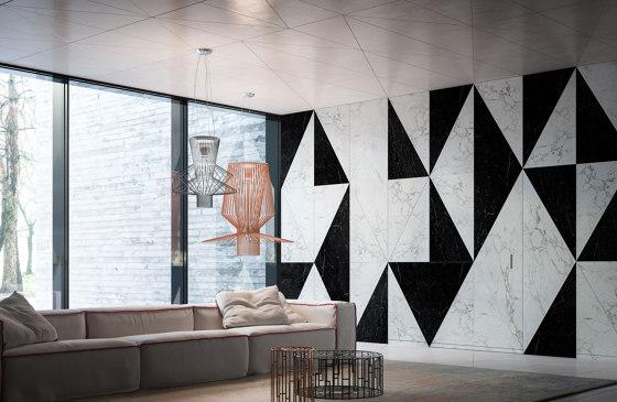 System M | Marble Stone Pivot Door by FritsJurgens | Hinges
