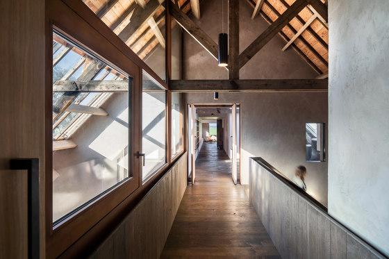System M | Wooden Pivot Doors by FritsJurgens | Hinges
