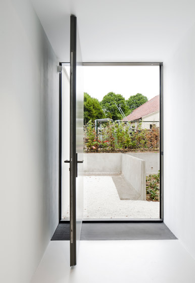 System One | Entrance Pivot Door by FritsJurgens | Hinges