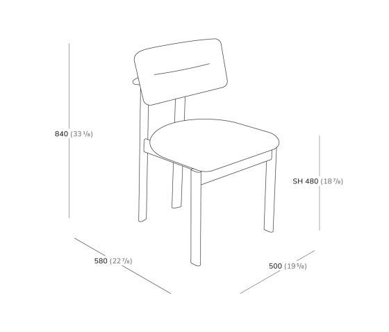 Pillar Chair by Favius | Chairs