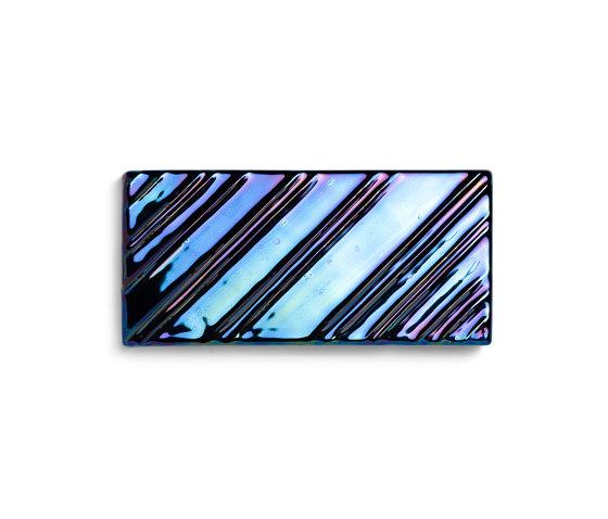 Stripes Black Lustre von Mambo Unlimited Ideas   Keramik Fliesen