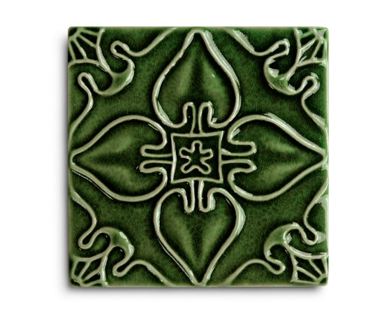 Pattern Emerald by Mambo Unlimited Ideas | Ceramic tiles