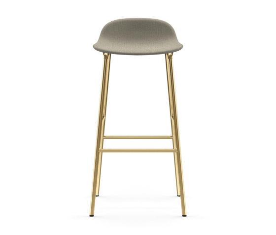 Form Barstool 75 Upholstered de Normann Copenhagen | Taburetes de bar