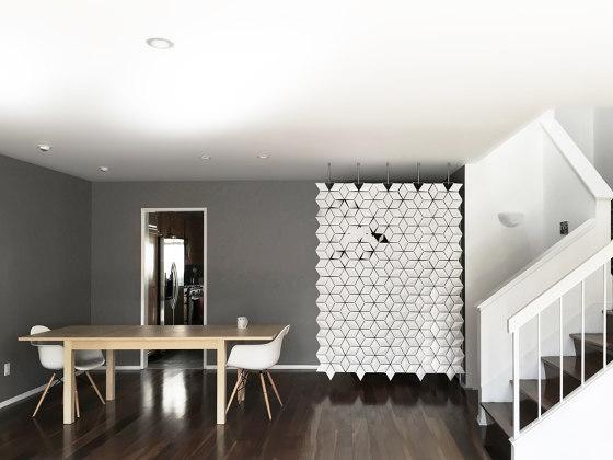 Facet Hanging Room Divider 170x249cm Folding Screens