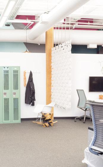 Facet Hanging Room Divider - 204x359cm by Bloomming | Sound absorbing room divider