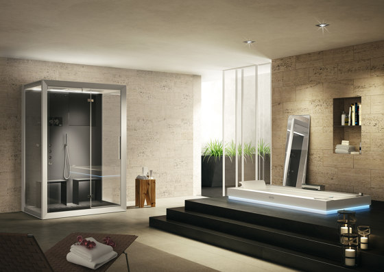 Frame by Jacuzzi® | Steam showers