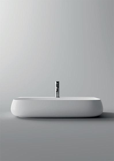 Washbasin 75cm x 45cm by Alice Ceramica | Wash basins