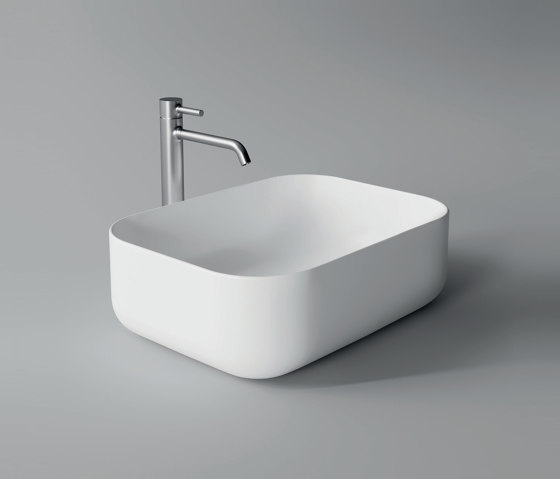 Washbasin Unica 50cm x 37cm by Alice Ceramica | Wash basins