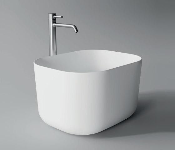 Washbasin Unica Rectangular by Alice Ceramica | Wash basins