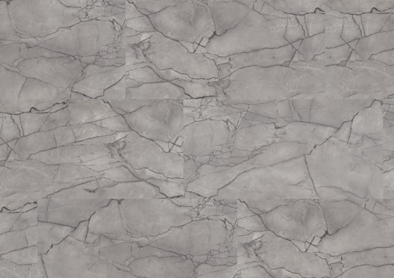 wineo PURline® Tiles | Grey Marble by Mats Inc. | Rubber flooring