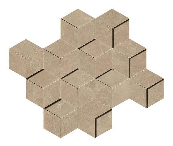 Marvel Elegant Sable Mosaico 3D by Atlas Concorde   Ceramic tiles