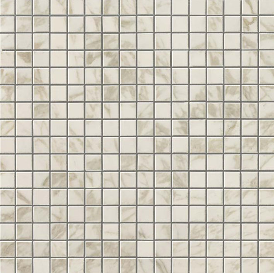 Marvel Royal Calacatta Mosaico Lappato by Atlas Concorde | Ceramic mosaics