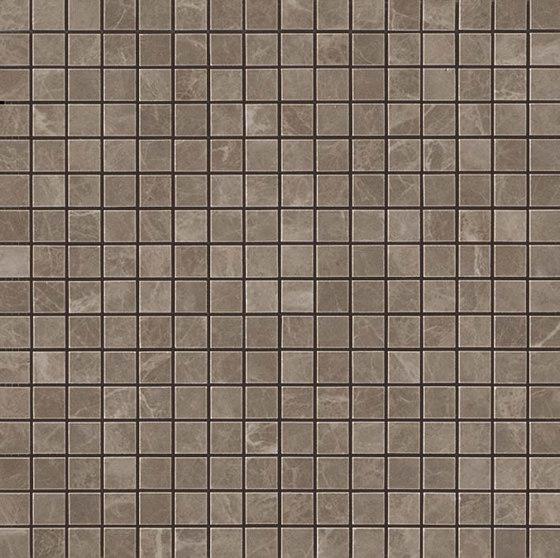 MARVEL Gris Supreme Mosaico Lappato de Atlas Concorde | Mosaicos de cerámica