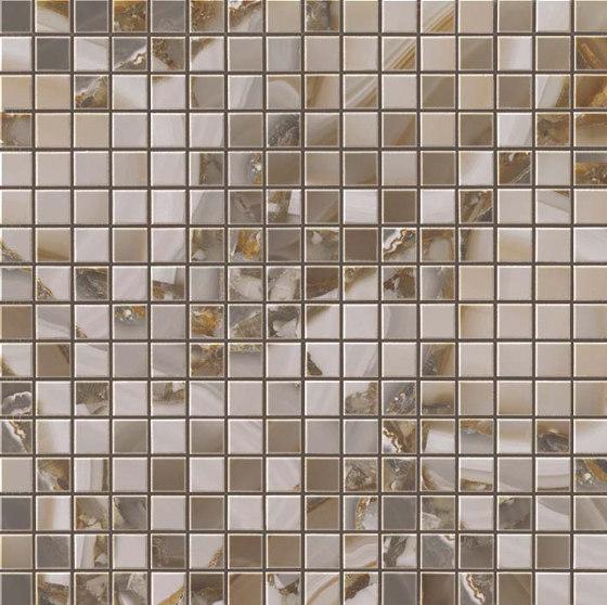 Marvel Agata Azul Mosaico Lappato by Atlas Concorde | Ceramic mosaics
