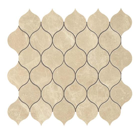 MARVEL Elegant Sable Drop Mosaico by Atlas Concorde | Ceramic mosaics