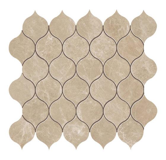 MARVEL Gris Clair Drop Mosaico by Atlas Concorde | Ceramic mosaics