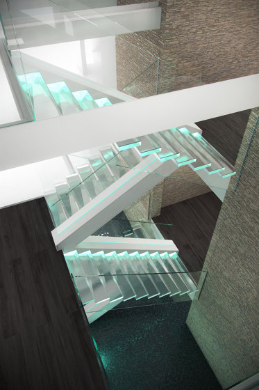 Crystal by Siller Treppen | Staircase systems