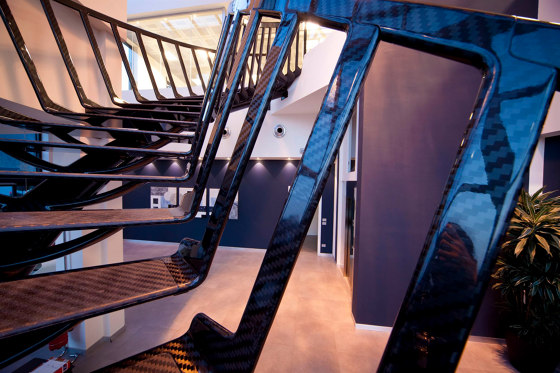 Carbon by Siller Treppen | Staircase systems