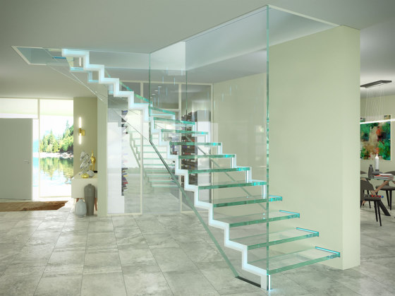 Londra LED by Siller Treppen | Staircase systems
