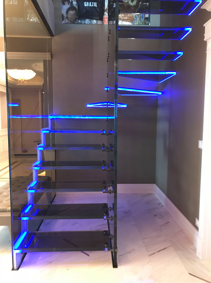 Mistral Londra Mix by Siller Treppen | Staircase systems
