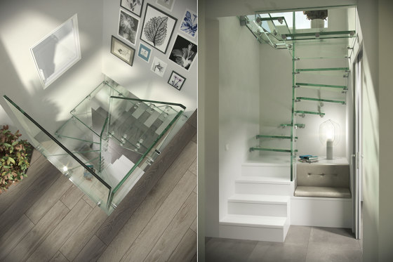 Mistral Spiral Glass by Siller Treppen | Staircase systems