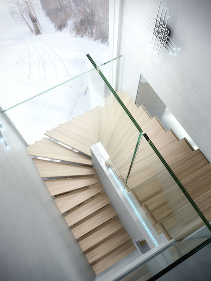 Mistral Magic by Siller Treppen | Staircase systems