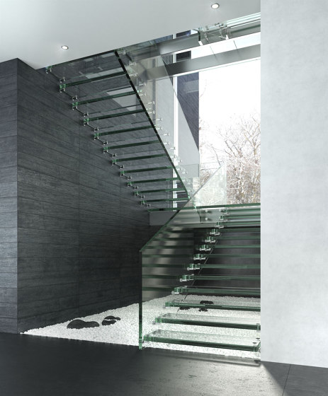 Montana Glass by Siller Treppen | Staircase systems