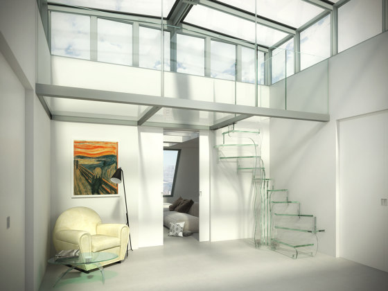 Tropic Glass by Siller Treppen | Staircase systems