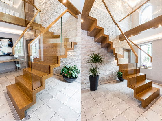 Zig-Zag Royal by Siller Treppen | Staircase systems