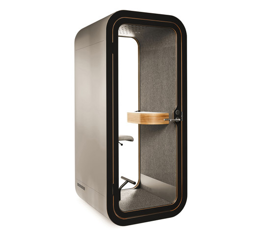 Framery O   Brushed Stainless Steel by Framery   Telephone booths