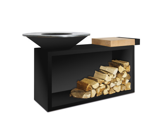 OFYR Island Black 85 by OFYR | Fireplace accessories