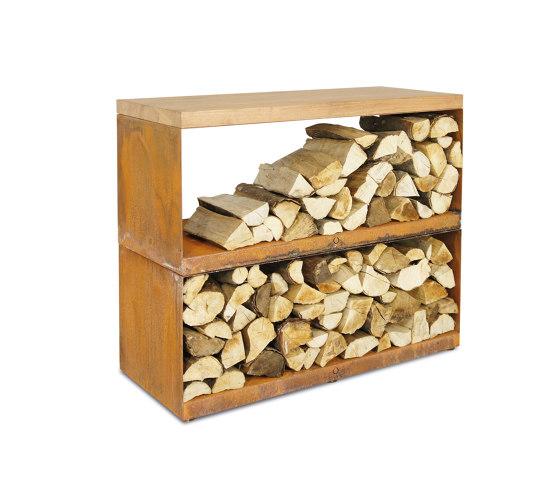 Wood Storage Dressoir by OFYR | Fireplace accessories