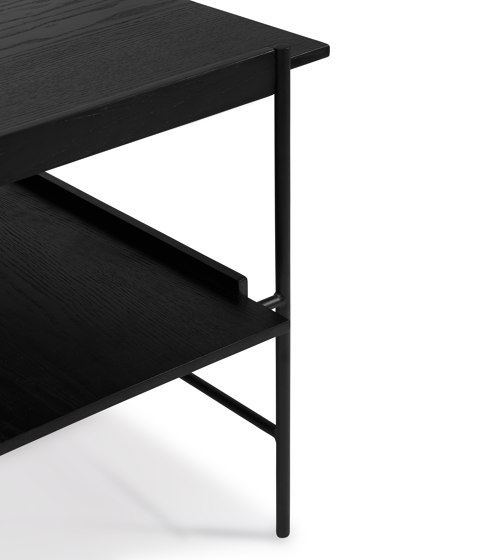 Kanso Coffee Table | Black frame von Please Wait to be Seated | Couchtische
