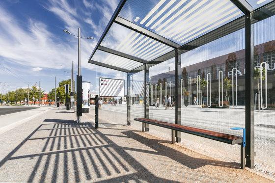 aureo | Smart shelter by mmcité | Bus stop shelters