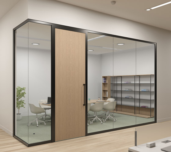 Tek Vue by Teknion | Wall partition systems
