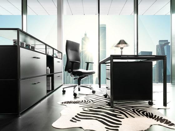 S-Desk black edition de Dauphin Home | Bureaux