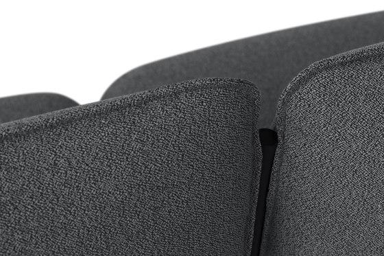 Kumo Sofa 2-Seater Graphite by Hem Design Studio | Sofas