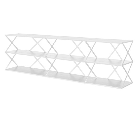 Lift Shelf 9 White de Hem Design Studio | Estantería