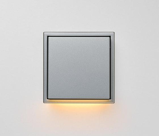 Plug & Light  | LS Zero LED Wall Luminaire aluminium by JUNG | Wall lights