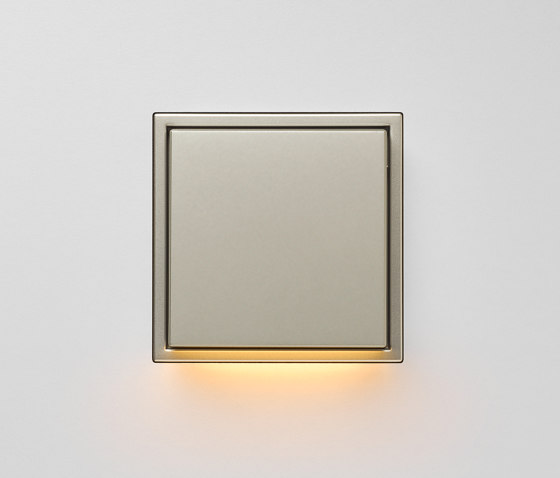 Plug & Light  | LS Zero LED Wall Luminaire stainless steel by JUNG | Wall lights
