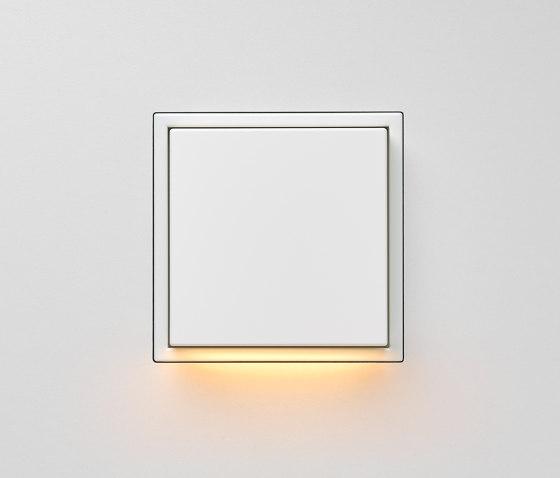 Plug & Light  | LS Zero LED Wall Luminaire white by JUNG | Wall lights