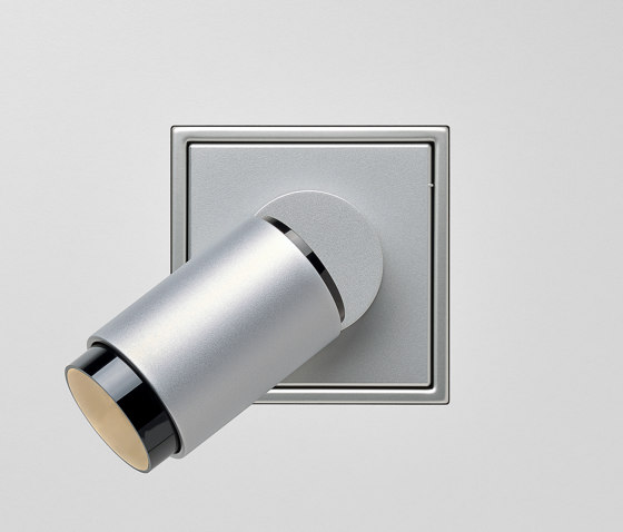 Plug & Light  | LS Zero LED Spotlight Aluminium by JUNG | Wall lights