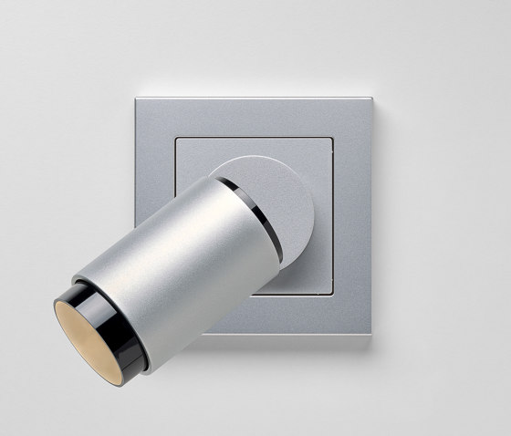 Plug & Light  | A Creation LED Spotlight Aluminium by JUNG | Wall lights